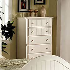 shop furniture of america cape cod white asian hardwood 5 drawer