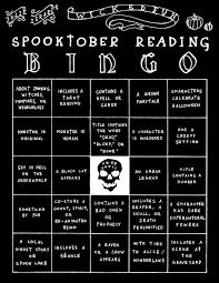 spooky literary bingo reading writing u0026 grammar humor