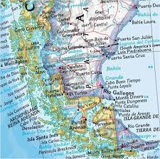 south america map buy political south america wall map standard size central and