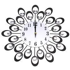 online get cheap metal wall clock diamond aliexpress com