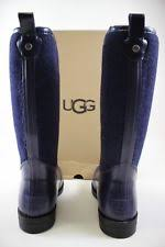 womens ugg boots navy ugg australia leather rainboots boots for ebay