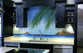 art tile backsplash bathroom ideas awesome tile painting art