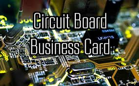 Business Cards Own Design Design Your Own Pcb Business Card 3 Steps With Pictures