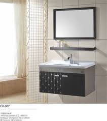 Bathroom Vanity Sink Combo by Stainless Steel Bathroom Vanity And Sink Combo 30 Inch Modern