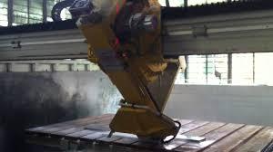 plc 700 laser bridge cutting machine for stone cutting granite and