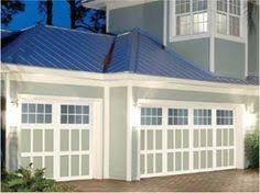 faux paint garage doors to look like wood everything i create