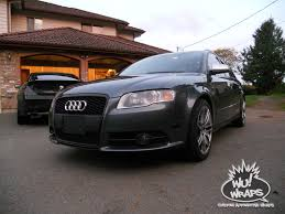 audi wagon black audi s4 b7 avant wagon oracal 970ra matte black story by mark wu
