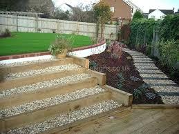 Decking Ideas For Sloping Garden Sloping Garden Designs Patio Designs Ideas For Sloping Garden