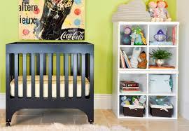 Mini Cribs by Bedroom Convertible Babyletto Grayson Mini Crib With White