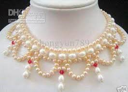 white pearls necklace designs images 2018 2010 new design akoya white pink pearl necklace from jpg