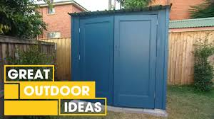 How To Build A Small Storage Shed by How To Build Your Own Shed Outdoor Great Home Ideas Youtube