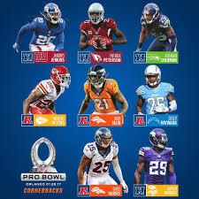 Pro Bowl Orlando by Pro Bowl Picks Cornerbacks Nfl Rush
