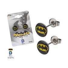 batman earrings batman logo earrings