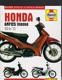 honda anf innova 2003 to 2012 service u0026 repair manual by haynes
