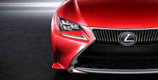lexus rc coupe getting new red paint color autoevolution