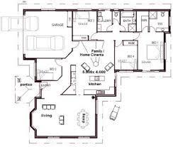 garage house floor plans 131 best 4 bedroom house plans images on house floor