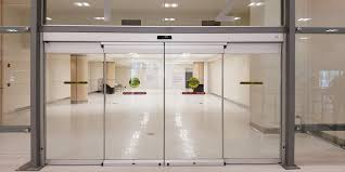 All Glass Exterior Doors Commercial Glass Entry Sliding Automatic Doors Besam Sl500 Cgl