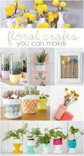 Home Floral Decor Diy Floral Crafts To Make