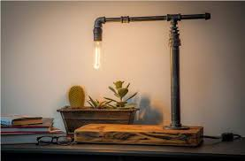 industrial desk lamp battery operated u2014 all home ideas and decor