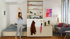ori systems u0027 robotic furniture system transforms apartment living