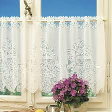 Butterfly Kitchen Curtains by Kitchen Room 1pc Butterfly Sheer Curtains Embroidery Curtain For