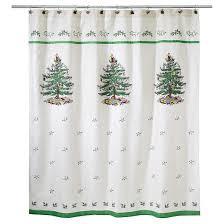 spode tree jacquard shower curtain ivory avanti linens