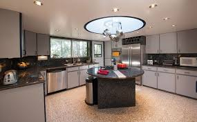 Kitchen Island Granite Countertop Modern Kitchen With Kitchen Island U Shaped In Portland Or