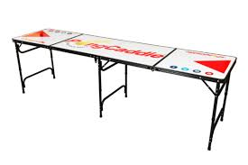 how long is a beer pong table pongcaddie regulation dry erase beer pong table beer pong gifts