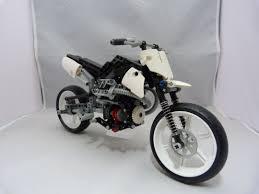 lego technic motocross bike moto guzzi hypermotard lego technic moc nemooz