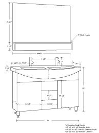 sink bathroom vanity cabinet cp 5040 classic