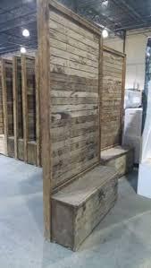 vintage pallet wood divider wall marquee rents party u0026 wedding