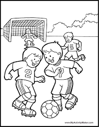 Soccer Coloring Pages Fablesfromthefriends Com Soccer Coloring Page