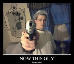 Gangster Meme - gangster meme now this guy is gangster golfian com