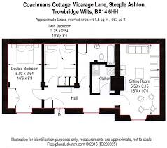 Scale Floor Plan Holiday Cottages Floor Plan Wiltshire Self Catering Accommodation