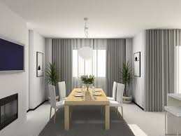 Curtain Ideas For Modern Living Room Decor Depiction Of Interior With Sheer Curtain For Undisguised Outdoor