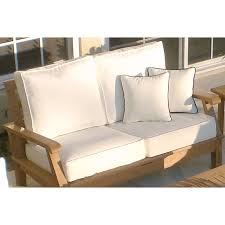 Loveseat Couch Royal Teak Miami Reclining Outdoor Sofa Hayneedle