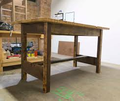 Rustic Wood Kitchen Tables - rustic reclaimed wood kitchen table