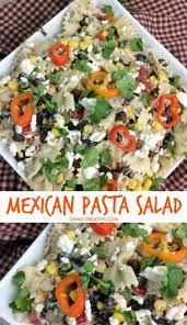 recipes for pasta salad mexican pasta salad recipe oh my creative