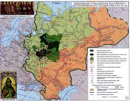 Russian Map Maps Of Russian History