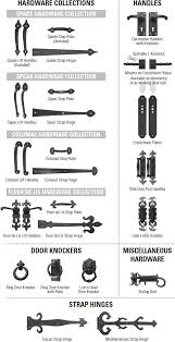 decorative hardware ideal garage doors
