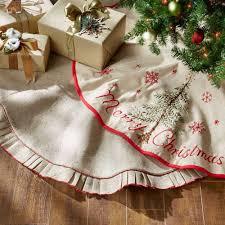 country styleistmas tree skirts best storage ideas on