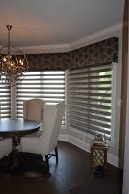 cornice and sheer shades for bay or bow windows abda abda window