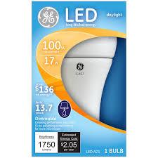 Led Light Bulbs Ge by Ge Lighting 34369 Led 17 Watt 100 Watt Replacement 1750 Lumen