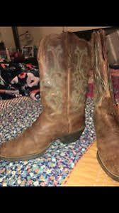 womens brown cowboy boots size 11 nwt womens justin cowboy boots size 11 brown leather ebay