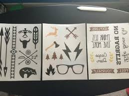 design and print your own temporary tattoos 5 steps with pictures