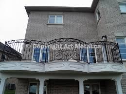 iron balcony railings toronto