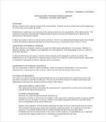 standard operating procedure template 8 free word pdf