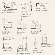 Stairs In Floor Plan by Martin Ray At Carolina Orchards In Fort Mill South Carolina Del
