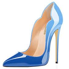 light blue womens dress shoes modemoven women s light blue point toe high heels patent