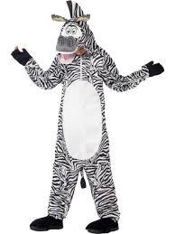 zebra halloween costume madagascar marty the zebra costume storybook animal fancy dress